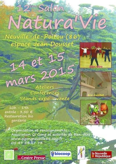 Salon Natura'vie 86 Neuville de Poitou